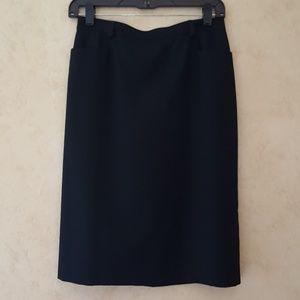 Tribal brand black pencil skirt NWT